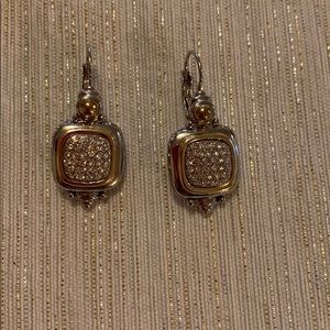 Drop earrings